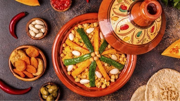 Cocina Vegetariana Marroquí, Tagine de Verduras