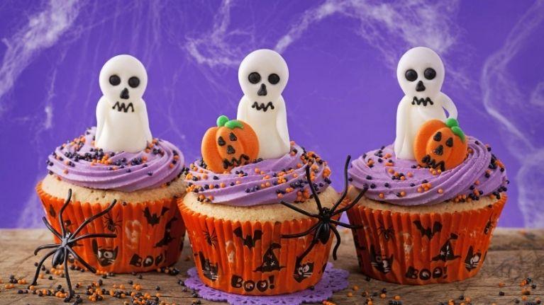 Taller de cocina para niños temática halloween en Pozuelo