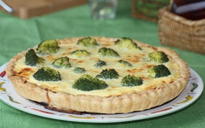 Quiche de Brócoli