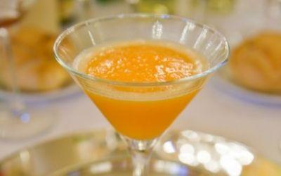 Recetas Pimienta y Sal - Sorbete de mandarina cava